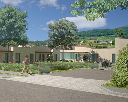 Kintzheim maison d accueil rurale pour personnes g es for Architecte paysagiste alsace