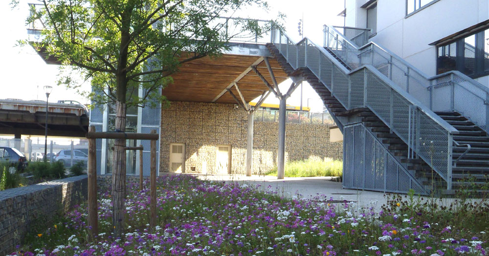 Mulhouse zac du site de la gare tgv gallois curie for Architecte paysagiste alsace
