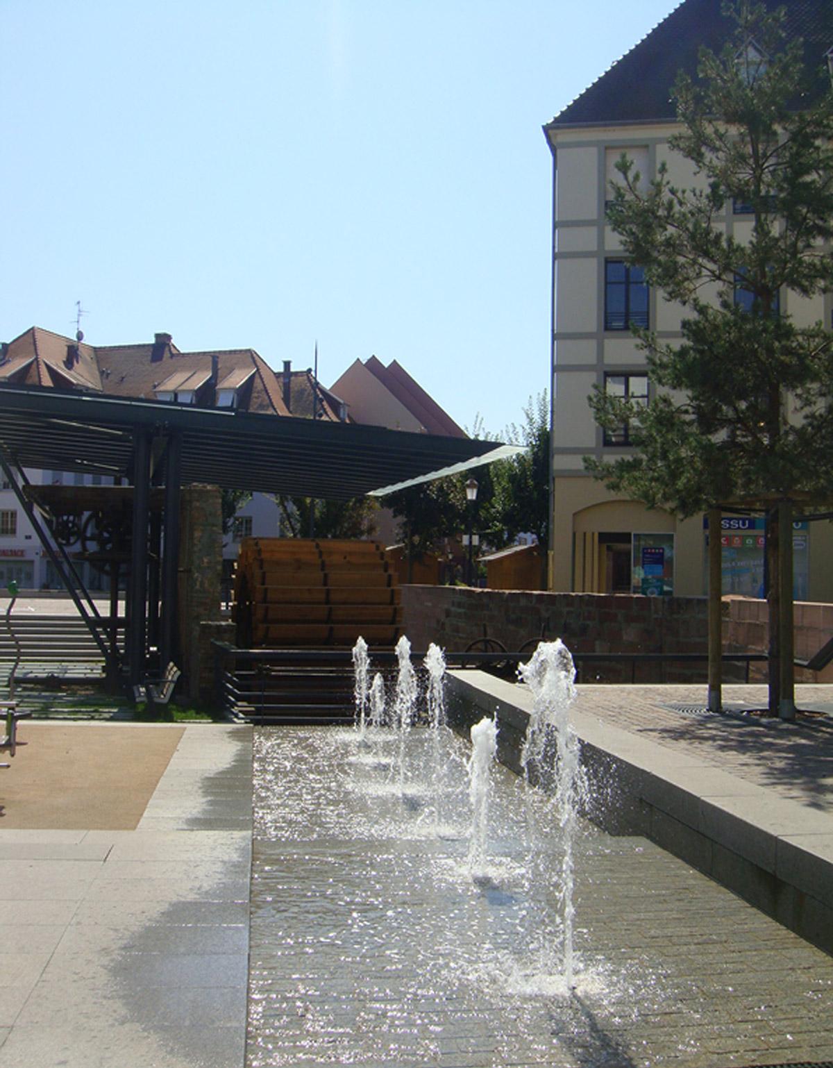 Haguenau place barberousse gallois curie atelier de for 60350 haute fontaine
