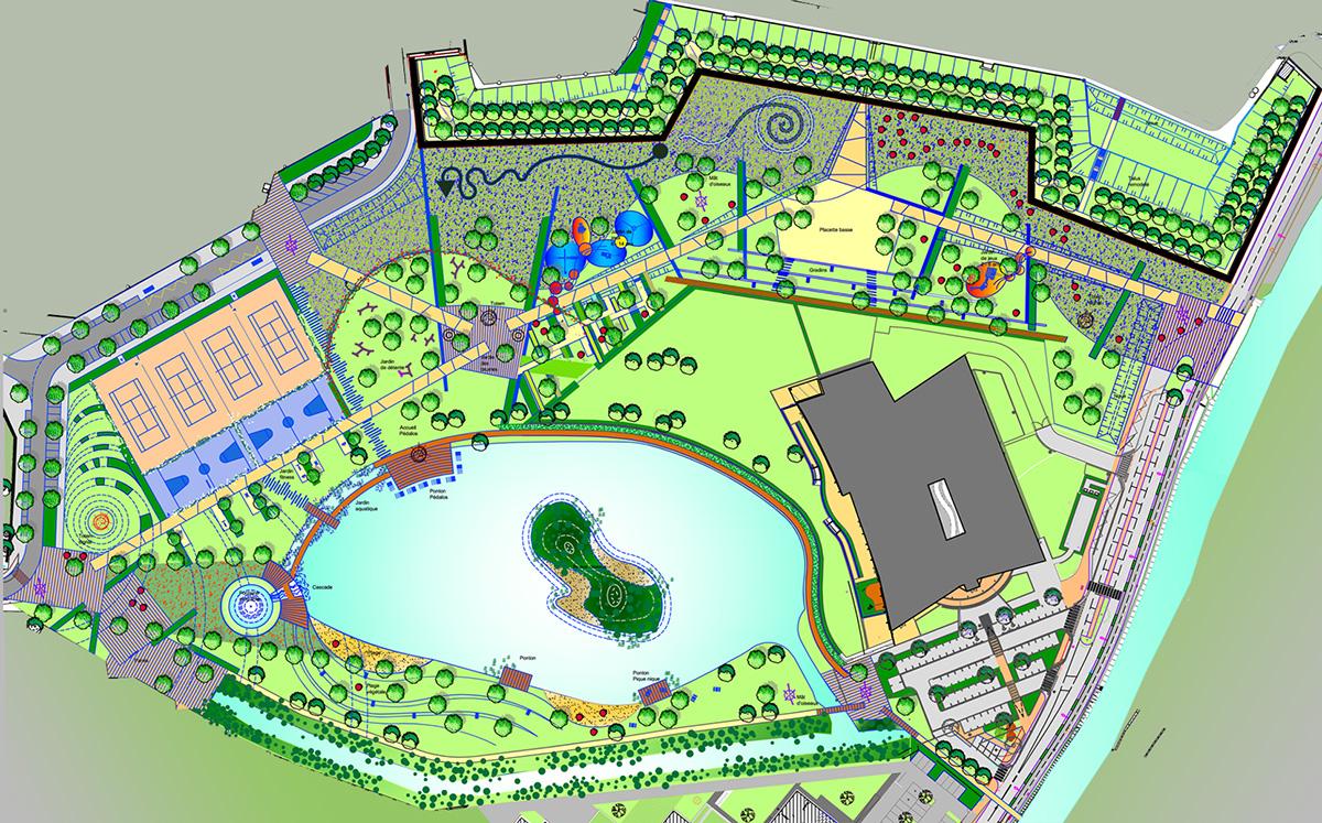 Selestat parc des remparts gallois curie atelier de paysage architectes paysagistes en alsace for Paysagiste selestat