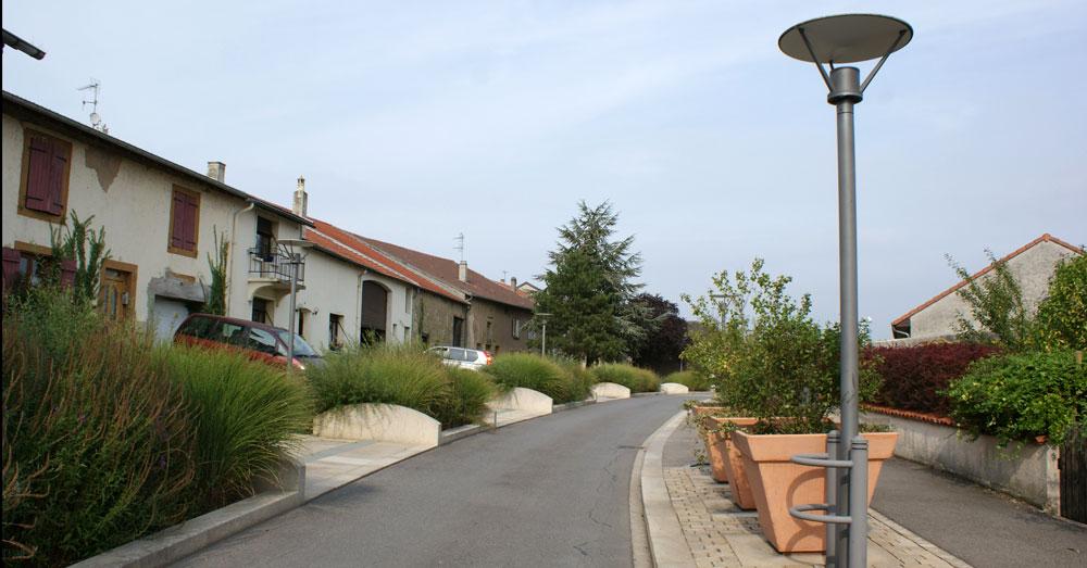 Retonfey rue des fontaines gallois curie atelier de for Architecte paysagiste alsace