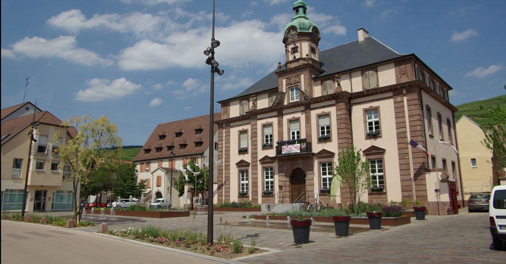 Soultzmatt centre ville gallois curie atelier de for Architecte paysagiste alsace