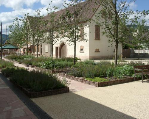 Les jardins nord