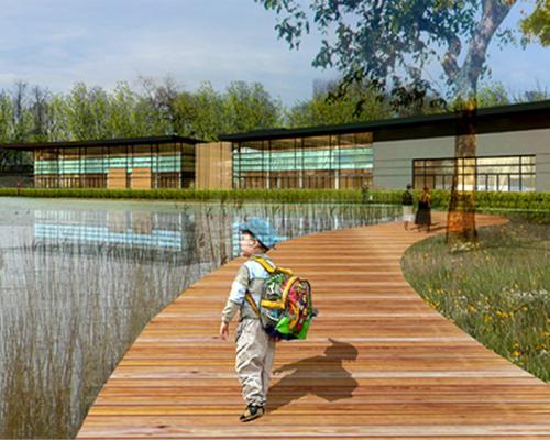 Selestat piscine quai albrecht gallois curie atelier de paysage architectes paysagistes en for Paysagiste selestat