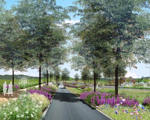 Zones d 39 activit s gallois curie atelier de paysage for Architecte paysagiste alsace