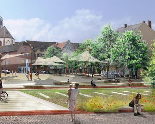 Am nagements urbains gallois curie atelier de paysage - Architecte saverne ...